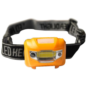 Mini Waterproof 1200Lm LED Flashlight Super Bright Headlight Headlamp Torch Camping Equipment with Headband