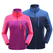 Load image into Gallery viewer, Mountainskin Men Women Winter Softshell Fleece Jackets Outdoor Sport Warm Coats Hiking Skiing Trekking Male Female Jacket VA060