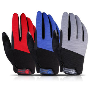NaturehikeOutdoor hiking gloves male and female models breathable mesh summer wear thin touch gloves riding mountain climbing