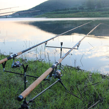 Load image into Gallery viewer, OBEI Feeder fishing rod telescopic spinning casting Travel Rod 3.3 3.6m vara de pesca Carp Feeder 60-180g pole
