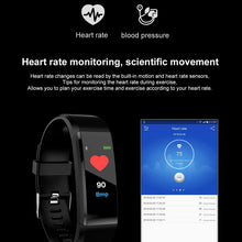 Load image into Gallery viewer, Schnoah New Smart Watch Men Women Heart Rate Monitor Blood Pressure Fitness Tracker Smartwatch Sport Watch for ios android +BOX
