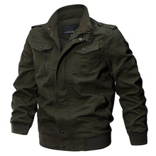 Load image into Gallery viewer, TACVASEN Military Jacket Men Winter Cotton Jacket Coat Army Men's Pilot Jacket Air Force Autumn Casual Cargo Jaqueta TD-QZQQ-009. From 1stopoutdoors Store USA