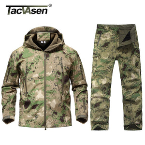 New Men Tactical Military Uniform Clothing Waterproof Army Combat Uniform Tactical Pants Men's Camouflage Hunt Clothes. From 1stopoutdoors Store USA