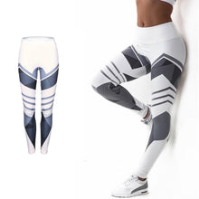 Load image into Gallery viewer, Women Sexy Yoga Pants Dry Fit Sport Pants Elastic Fitness Gym Pants Workout Running Tight Sport Leggings Female Trousers 2Colors