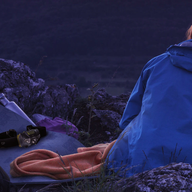 camping essentials to survive a power emergency - headlamp