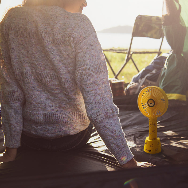 camping essentials to survive a power emergency - portable usb fan