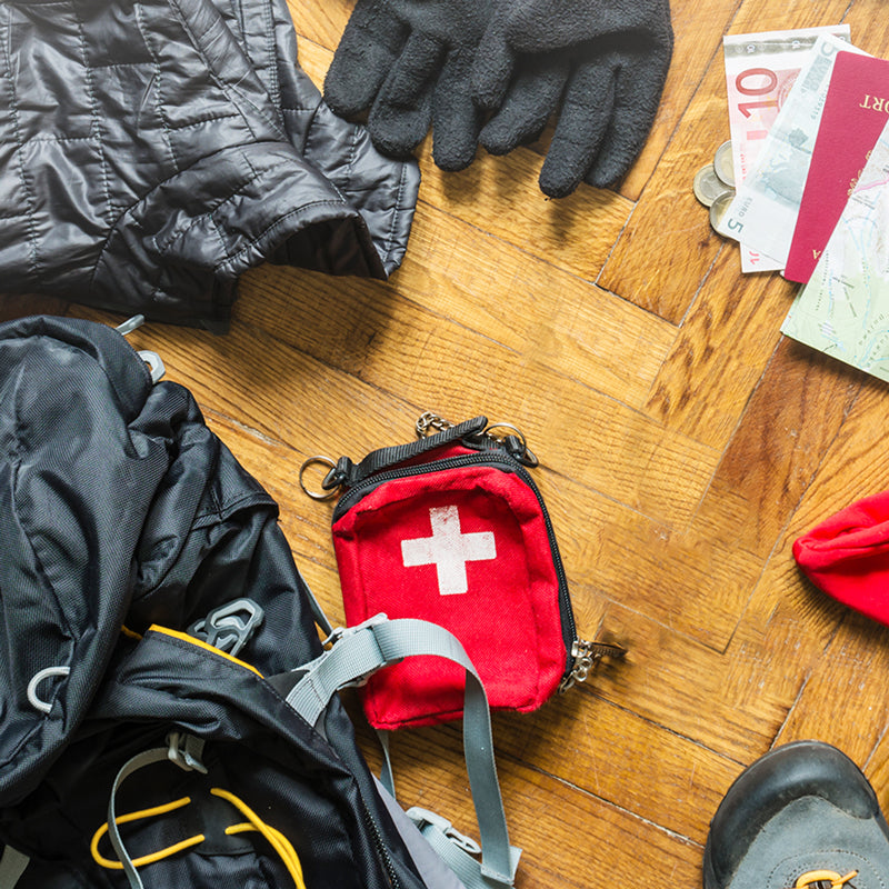 camping essentials to survive a power emergency - first-aid kit