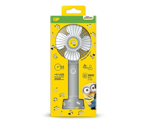 Limited Edition GP BA-NA-NA USB Portable Fan - Cool Grey