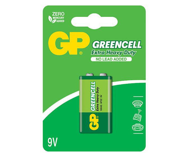 GP Greencell 9V-GP Batteries Hong Kong