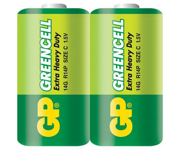 GP Greencell C 2's Shrink Wrap-GP Batteries Hong Kong