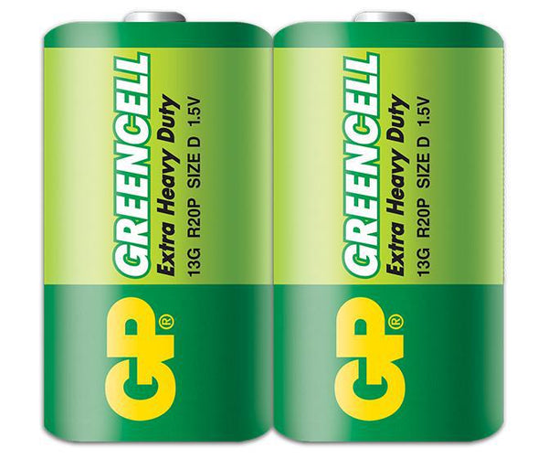 GP Greencell D 2's Shrink Wrap-GP Batteries Hong Kong