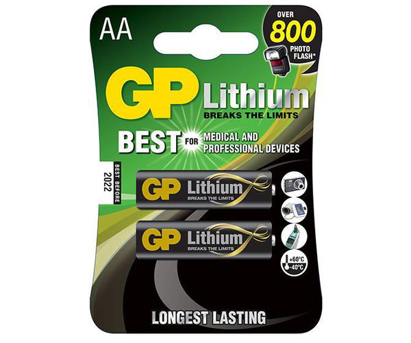 GP Lithium AA-GP Batteries Hong Kong