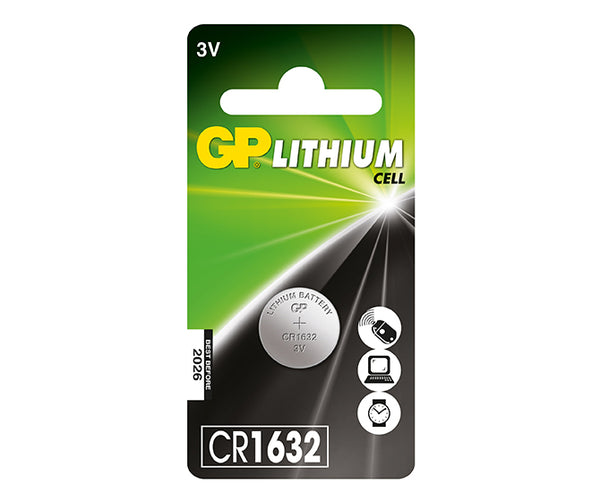 GP Button Cell - Lithium CR1632-GP Batteries Hong Kong