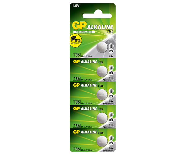 GP Alkaline Button Cell 186F Mercury Free-GP Batteries Hong Kong