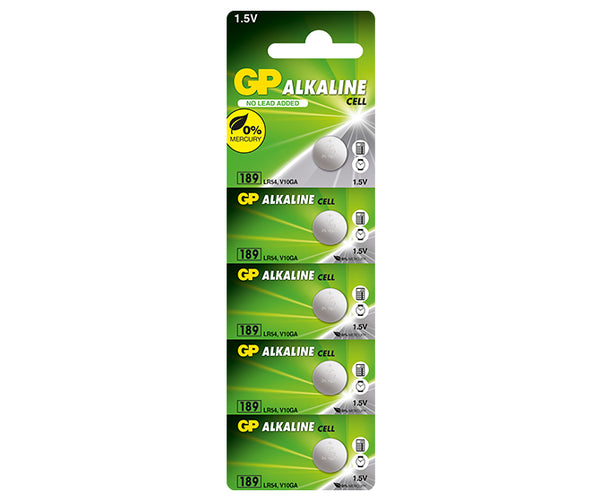 GP Alkaline Button Cell 189F Mercury Free-GP Batteries Hong Kong