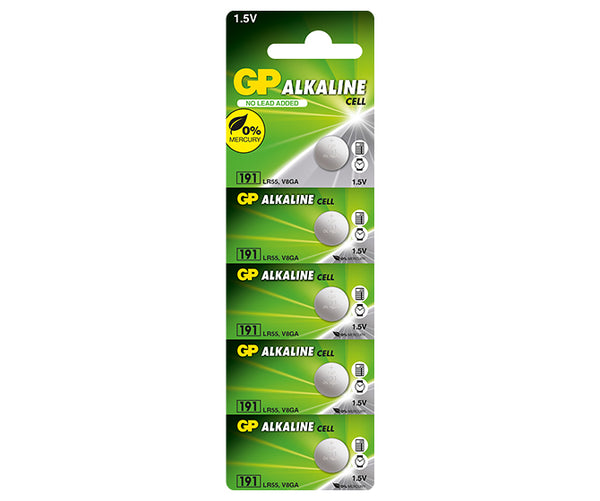 GP Alkaline Button Cell 191F Mercury Free-GP Batteries Hong Kong