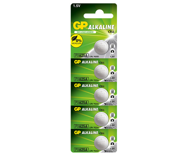 GP Alkaline Button Cell PX625AF Mercury Free-GP Batteries Hong Kong