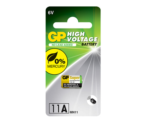GP High Voltage Battery 11AF Mercury Free-GP Batteries Hong Kong