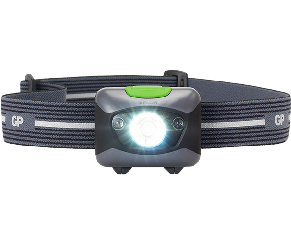 GP XPLOR Headlamp PH14 with Red LED Night Vision-GP Batteries Hong Kong