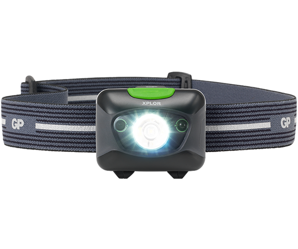 GP XPLOR Headlamp PHR15 Rechargeable with Distance Sensor-GP Batteries Hong Kong