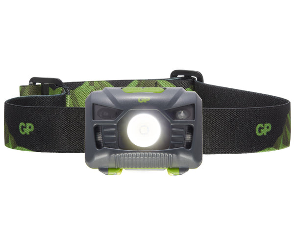 GP Discovery Headlamp with Red LED Light & Motion Sensor (on/off) - CH34