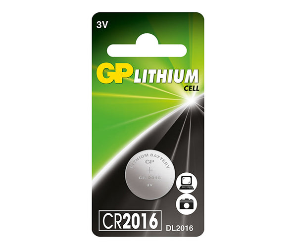 GP Button Cell - Lithium CR2016-GP Batteries Hong Kong
