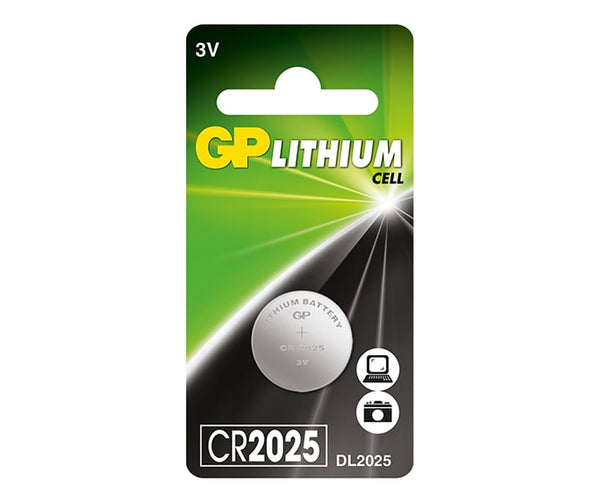 GP Button Cell - Lithium CR2025-GP Batteries Hong Kong
