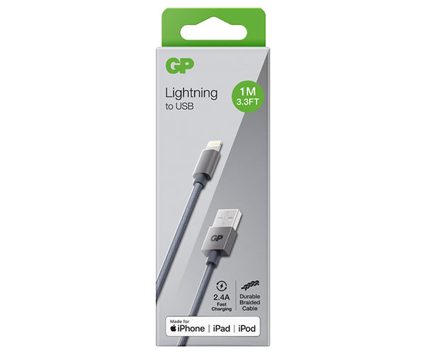 GP 1M Lightning Charge & Sync Cable - CL1A