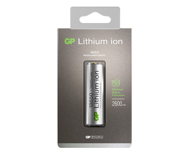 GP Li-ion 18650 2600mAh Rechargeable Battery
