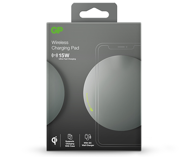 GP Q-Series Wireless Charging Pad QP1A 15W