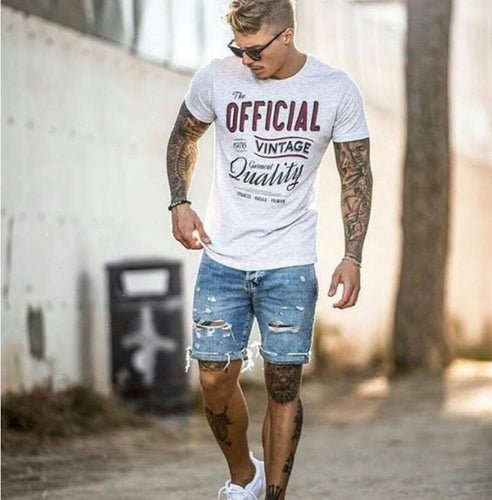 Fashion Wear-Washed  Men's Shorts