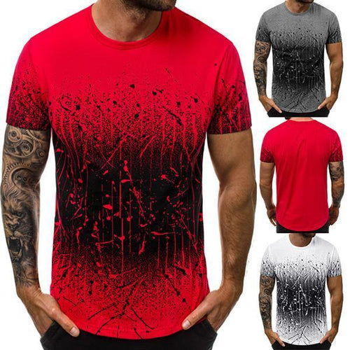Men's Fashion Minimalist Gradient Color T-Shirt