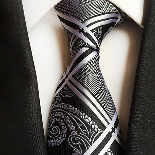 Fashion Paisley Flower Men's Suit Ties