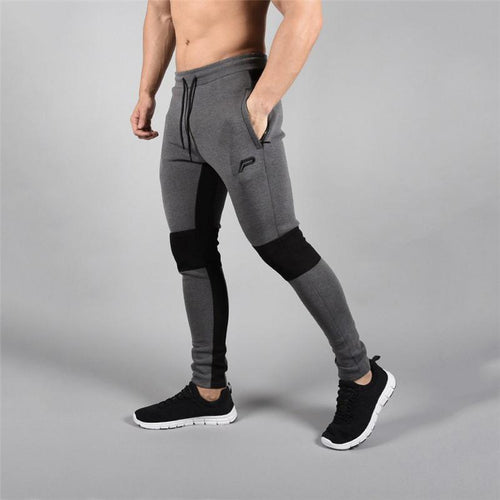 Fashion Stitching Color Sports Trousers