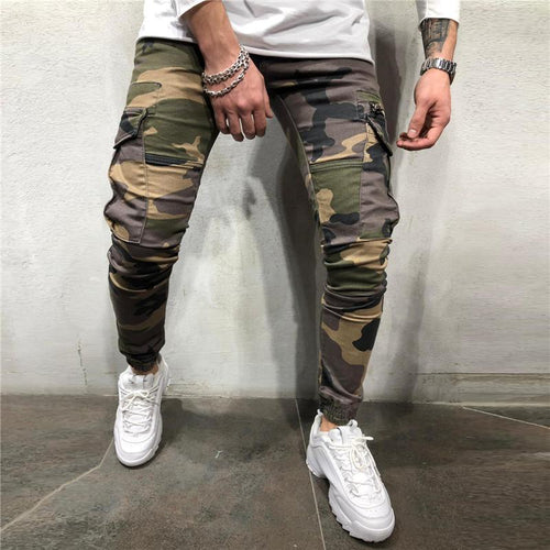 Fashion Men's Camouflage Casual Trousers