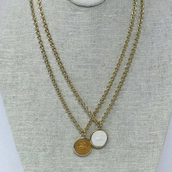 Intaglio Necklace - 18
