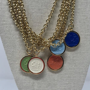 Intaglio Necklace