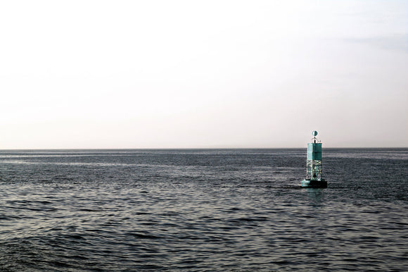 Sea - Blue Buoy