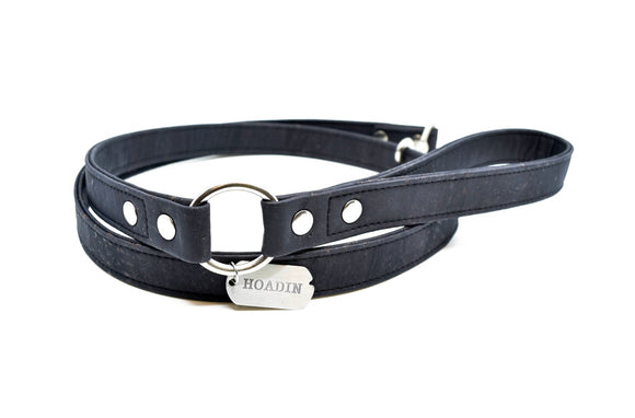 Black Cork Dog Leash
