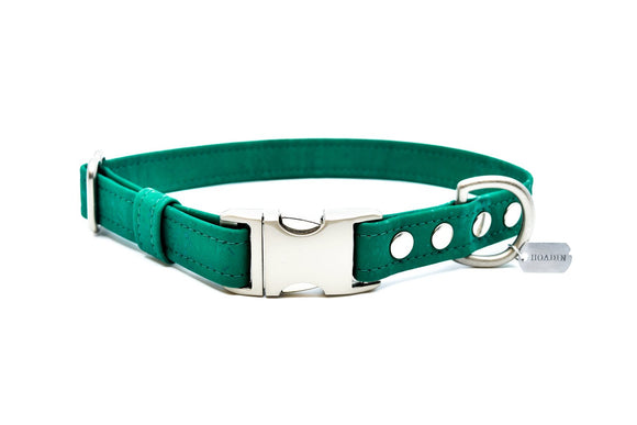 Emerald Cork Dog Collar