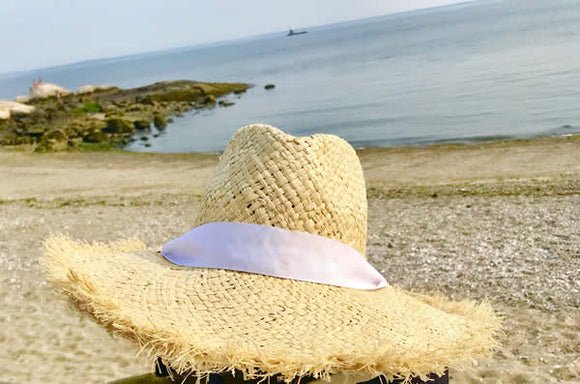 Fringed Classic Straw Hat