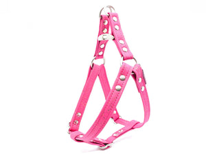 Fuchsia Cork Dog Harness