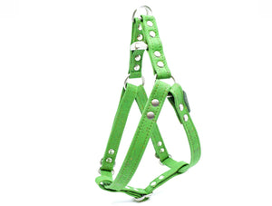 Green Cork Dog Harness