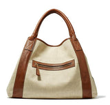 Michelle Tote -  Light Linen