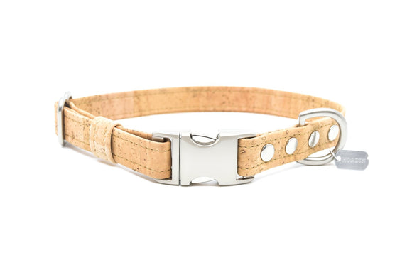 Natural Cork Dog Collar
