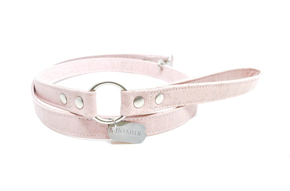 Pink Cork Dog Leash