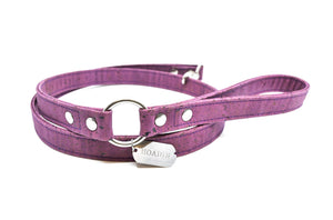 Purple Cork Dog Leash