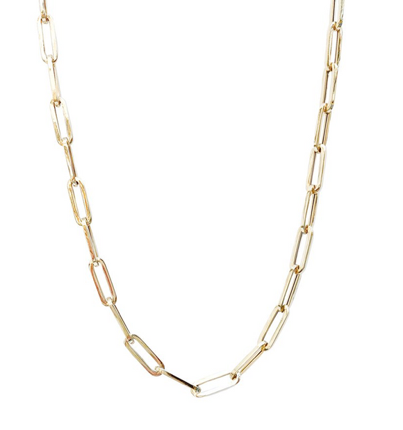 14kg Paperclip Necklace Large