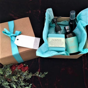 Body Oil and Grey Lady Soap Set