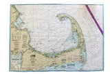 Cape Cod Nautical Map Quilt